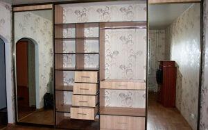 Многофункциональный встроенный шкаф-купе VSHK-142