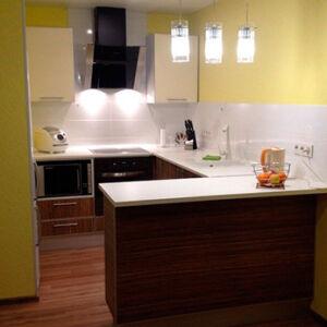 Стильная кухня из МДФ KMDF-448