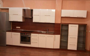 Светлая модульная кухня MK-307