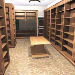 Мебель для магазина в коричневой цвете MM-164