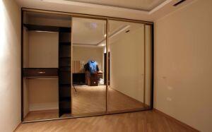 Классический шкаф-купе с зеркалами SHKZ-201