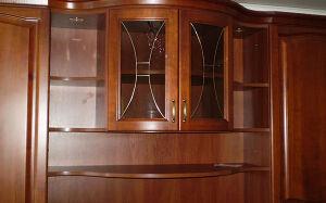Корпусная деревянная гостиная KDG-073
