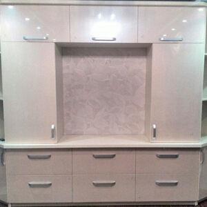 Большая встроенная мебель в гостиную комнату VMG-463