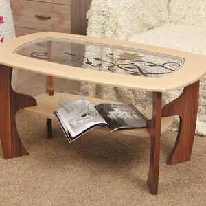 Стеклянный журнальный столик в гостиную ZHSG-154