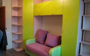 Цветная модульная мебель в детскую комнату DMM-183