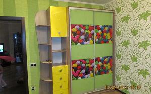 Шкаф-купе в детскую SHKD-083