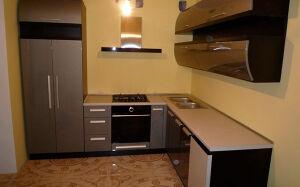 Модульная кухня в стиле Хай-тек MKHT-014