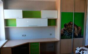 Разноцветная модульная мебель в детскую DMM-320