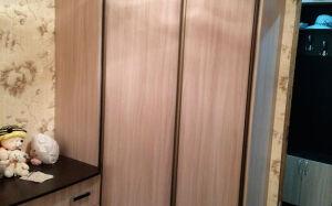 Угловой шкаф для спальни SHS-385