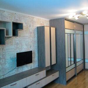 Серая гостиная в современном стиле GS-256