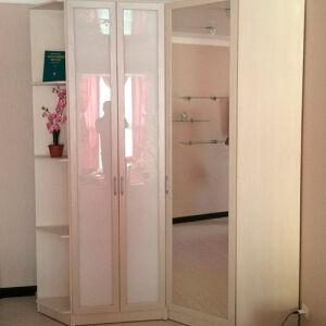Мебель в гостиную в светлых тонах GKS-434