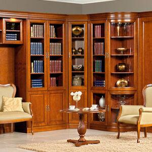 Элегантная библиотека в офис BO-162