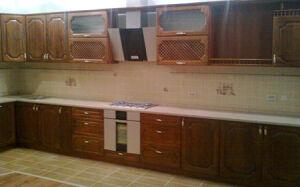 Кухня, выполненная в классическом дизайне KK-447