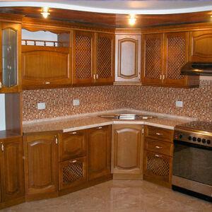 Кухня из массива дерева KMD-020