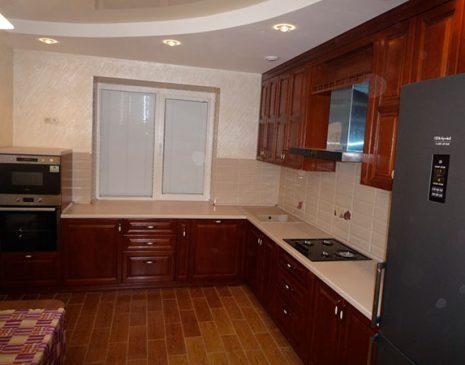 Кухня из массива дуба KMD-022
