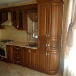 рамочная кухня из дерева