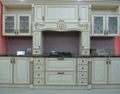 Дизайнерская кухня в классическом стиле DKK-047