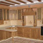 кухонный массив