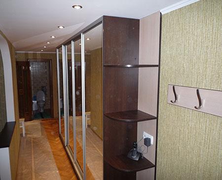 Стенка для прихожей с зеркалами sp-234 - мебель в виннице.