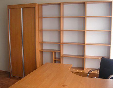 Коричневая мебель в рабочий кабинет MK-284