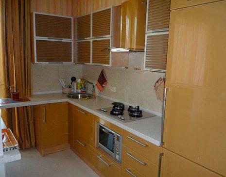 Модульная кухня коричневого цвета MK-350