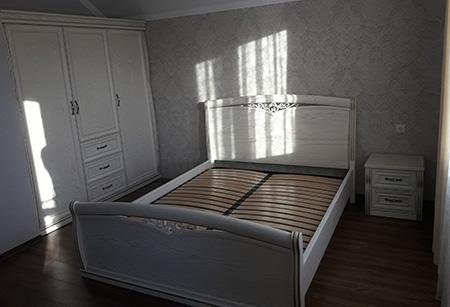 Классический шкаф для спальной SHS-413