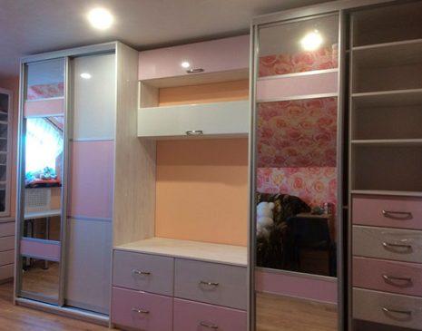 Цветная стенка для детской комнаты SD-368