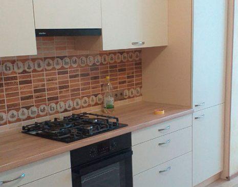 Встроенная кухня из эмали K-emal-495