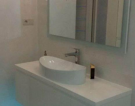 Тумба и зеркало в ванную MV-331